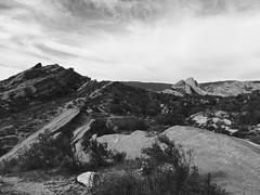 FullSizeRender1 (lnewman333) Tags: park sky blackandwhite clouds rocks socal southerncalifornia santaclarita vasquezrocks losangelescounty aguadulcecanyon