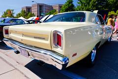 1969 Plymouth Road Runner (hz536n/George Thomas) Tags: summer michigan plymouth august canon5d mopar flint roadrunner ef1740mmf4lusm 2013 cs5 backtothebricks