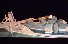 1992 Bilbao, Guggenheim maqueta de Gehry (jon.arregi) Tags: museum bilbao guggenheim guggenheimbilbaomuseoa museoguggenheim