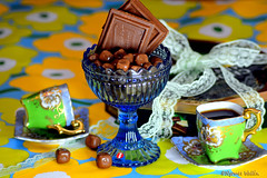 Friendships mean sharing food, coffee and chocolate in my book. (nyomee wallen) Tags: blue friends irish food tree green love coffee finland sweet lace chocolate clean laugh sharing mean pure islamic marimekko friendships friendshipday ilovegreen iloveyellow iloveblue coffeecoffee greencoffeecups symbolofgreen marimekko friendshipsmeansharingfoodcoffeeandchocolateinmybook