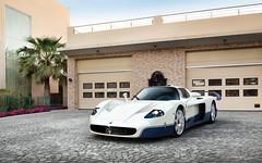 MC12. (Alex Penfold) Tags: blue white cars alex car bahrain super autos supercar mc12 maserati supercars penfold 2016