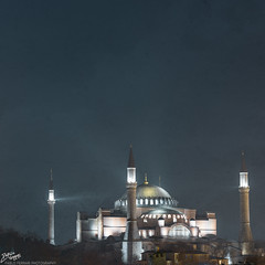 Trkiye / Istanbul / Ayasofya (Pablo A. Ferrari) Tags: city urban building night turkey long exposure turkiye istanbul textures historical ottoman byzantine hagiasofia justinian turchia ayasofya turkei ottomanempire pabloferrari pabloferrariphotography
