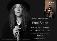 PATTI SMITH - RENCONTRE/DEDICACE (Brin d'Amour) Tags: paris 75007 pattismith livre rencontre ddicace brindamour librairiegallimard