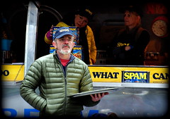 "Remember ""Spam"" ? (* RICHARD M) Tags: street food cold liverpool portraits advertising beard marketing march candid spam rednose whiskers portraiture coldweather greybeard bearded cannedfood merseyside baseballcap streetportraits freebies capitalofculture cannedmeat streetportraiture candidportraits candidportraiture liverpoolone puffajacket greywhiskers tinnedmeat bewhiskered promotionpeople eurropeancapitalofculture greenpuffajacket maritimemercantileciity"