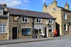 Main Street Mar 2016 (Paul Thackray) Tags: mainstreet yorkshire hairdressers 2016 thorner villageshop delectations