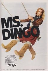 Dingo 1981 (moogirl2) Tags: vintage boots retro 80s 1981 dingo vintageads vintagefashion 80sfashion