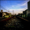 now here / no where (TommyOshima) Tags: railroad velvia fujifilm nikkor f28 2007 rvp 75mm bronicaectl