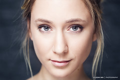 Moody (John Win   Photography) Tags: portrait people woman girl beauty face closeup female hair person model eyes natural head femme young lips sensual blonde gaze