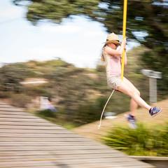 Baden Powell is go for orbital separation (Will Vale) Tags: brooklyn centralpark wellington flyingfox