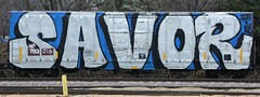 SAVOR (rabidscottsman) Tags: railroad blue white black art minnesota train graffiti nikon weekend letters saturday rr numbers boxcar mp dslr tamron mn 016 savor railroadtracks socialmedia missouripacific benched twitter 782 18270 benching railroadgraffiti paintedsteel newpragueminnesota d7100 rollingart scotthendersonphotography tamron18270 nikond7100