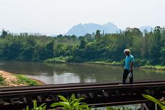 Respect -  (Thibaud Saintin) Tags: thailand dangerous loneliness thalande curve th kanchanaburi deathrailway saiyok krasae kanchanaburiprovince krasaecave totallythailand changwatkanchanaburi tambonlumsum