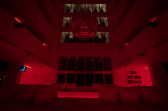 Lobby (joshmonk) Tags: travel light red bar turkey hotel mirror march europe doors room wideangle pillows tokina adventure indoors antalya mirrorball foyer 2016 orangetrees 1116mm turkye hotelsu