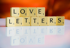 Love letters (Maria Eklind) Tags: reflection love paint letters loveletters spegling