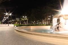 Fontana dei 4 cavalli (tommasoweb) Tags: street light sea color night canon photography photo foto weekend rimini piazza lungomare fontana cavalli notte fellini adriatico allaperto italianeography