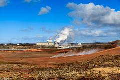 Clean energy (holger.torp) Tags: sky energy outdoor steam clean pressure reykjanes hver geotermal gunnuhver hverasvæði