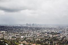 DTLA (JawshBeavz) Tags: california park ca storm rain skyline clouds death la los downtown view angeles grim overcast observatory ugly hatred griffith dtla