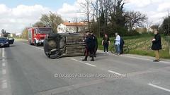 Incidente in via Hochberg a Bastia Umbra (19) (Gruppo Editoriale UmbriaJournal) Tags: bastia incidente