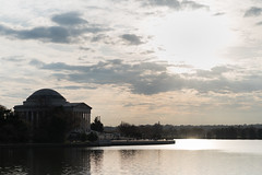 Jefferson Memorial (E.Duthe) Tags: sunset silhouette mall dc washington nikon memorial thomas president basin national d750 jefferson tidal