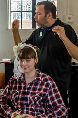 Gestures (Dave Gill: Just Smile or Act Natural :/ :O ;P :)) Tags: wedding house hair spring stylist nikon175528 nikonsb22 nikonsb900 randbryan davegillphotography vivtarthristor285
