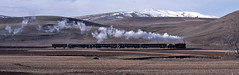 Samsun line passenger (Bingley Hall) Tags: railroad panorama snow train turkey landscape smoke transport engine rail railway steam explore transportation locomotive passenger 280 nohab g82