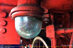 La luz! (Tomeso) Tags: detalle luz spain jung industrial steam aragon locomotive vapor locomotora patrimonio escatron azaft