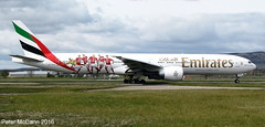 A6-EPA B777 Glasgow April 2016 (pmccann54) Tags: boeing777 a6epa emiratesairlinesbenficafc