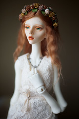 Florence (Nelisiyart) Tags: red hair spring doll dolls christina bjd chateau mori balljointeddoll