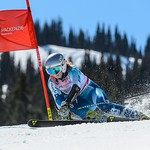 Whistler Cup Ladies' U16 SG - Marte Monsen 1st (Norway) - PHOTO CREDIT: Coast Mountain Photography www.coastphoto.com