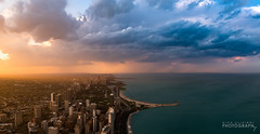 (4.25.16)-360_Clouds-WEB-10 (ChiPhotoGuy) Tags: sunset chicago weather skyline clouds cityscape atmosphere lakeshoredrive lakefront
