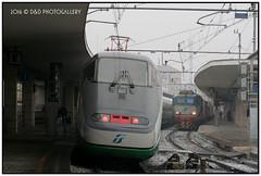Stazione di Padova. Novembre 2005 (Roberto Drigo) Tags: 2005 fs padova treni etr500 ferrovie rfi e655 robertodrigo ddphotogallery
