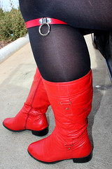 Red Collar and Red Boots (Unusual Stylings) Tags: red boots tights collar unisex choker leggings menintights redboots collars manintights menstights guyintights calfboots guywearingtights menwearingtights manwearingtights maninleggings meggings meninleggings guyinleggings manwearingleggings menwearingleggings guywearingleggings mensleggings semiopaquetights freedressing semisheertights semisheerleggings semiopaqueleggings