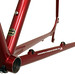 Gunnar Fastlane in Candy Red - Chainstay Detail