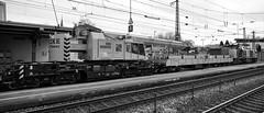 Der Eisenbahndrehkran KRC 810 T (Uwe Wieteck) Tags: spitzke eisenbahndrehkran kirow eisenbahnkran krc810t 99809419009