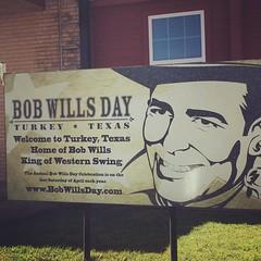 Bob Wills Sign (booboo_babies) Tags: music sign turkey cowboy texas country cowboyhat bobwills turkeytexas