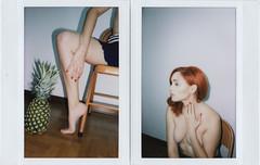 clotilde petrosino for Yogurt Magazine (Yogurt Magazine) Tags: portrait fruit naked nude flash terry instant richardson instax erotism yogurtmagazine
