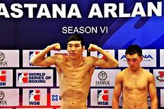 Week 11 Group D Weigh In Astana Arlans Kazakhstan vs Uzbek Tigers (World Series Boxing) Tags: wsb boxing weighin week11 groupd worldseriesboxing astanaarlanskazakhstan wsbvi uzbektigers