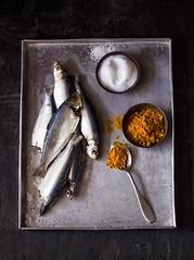 Raw Fishes (Chandrima Sarkar) Tags: stilllife fish dark raw moody bengali foodphotography foodstyling