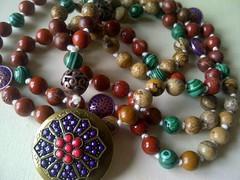 224003_1621193368197036_1552829500385132244_n (innerjewelz@rogers.com) Tags: handmade traditional jewelry jewellery meditation custom mala 108 mantra intention knotted japamala innerjewelz