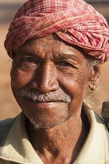 Bastar - Chhattisgarh - India (wietsej) Tags: portrait india man zeiss rural sony tribal 135 18 a700 chhattisgarh bastar sal135f18z