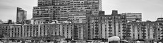 Legacy Buildings (C@mera M@n) Tags: city nyc newyorkcity urban blackandwhite panorama ny newyork monochrome architecture outdoors us unitedstates manhattan places newyorkphotography newyorkcityphotography
