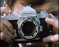 NIKKORMAT CAMERA 35MM - 1970 (Midlands Vehicle Photographer.) Tags: camera simon film 35mm 1970 nikkormat
