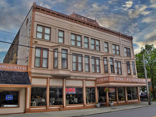 Canandaigua New York ~ Lynch Furniture Co ~ aka  ~ Grant M Kennedy Building