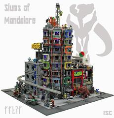 Slums of Mandalore (I Scream Clone) Tags: star punk lego scifi wars cyber mandalore