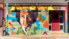 Pour Boy (flashfix) Tags: street urban panorama ontario canada walking person graffiti spring pub nikon mural vibrant ottawa streetphotography reddoor sidewalk colourful aroundtown 495 2016 downtownottawa d7000 pourboy 55mm300mm 2016inphotos april272016