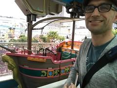Pirate ships two days in a row (rocketlass) Tags: japan tokyo levi pirateship hanayashikiamusementpark