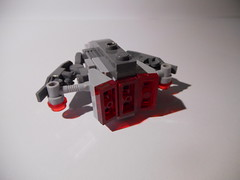 Sh-1t Interceptor (Unnecessary Chair) Tags: lego spaceship moc microscale