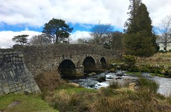 Postbridge on Dartmoor.... This is actually just the road bridge. (Seymour Travels Small Group Tours) Tags: travel light vacation weather river nationalpark tour britain guide dartmoor