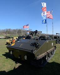 Cadillac/General Motors M114 (albionphoto) Tags: usa lafayette jeep nj cadillac landrover willys oshkosh militaryvehicle m114 marshallofcambridge militarytransportassociation