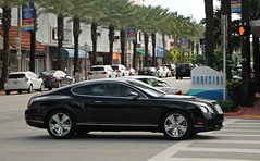 Bentley Continental GT (RudeDude2140a) Tags: black sports car continental exotic gt coupe bentley