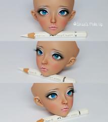Minife Liria Tan (Rakeru Space) Tags: make up doll tan bjd fairyland sensei liria rakeru minife senseis